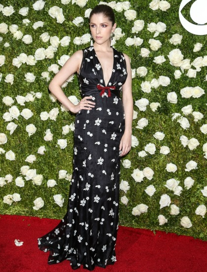 Anna Kendrick in Miu Miu at the Tony Awards: tragic or adorable?