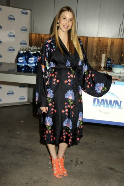 Whitney Port won't have sex while pregnant: 'I can't get into the mood'