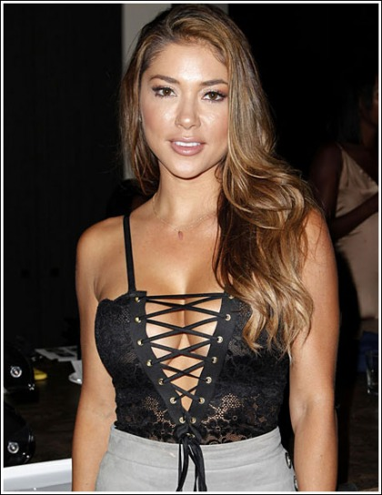 Arianny Celeste Busting Out Her Ginormous Cleavage Like Bananas