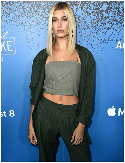 Hailey Baldwin Flashes Her Drool-Inducing Tummy