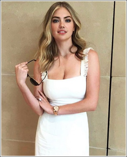 Kate Upton Drops Some Massive Cleavage Action
