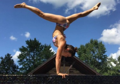 Danica Patrick Keeps Her Body Fit