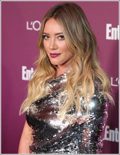 Hilary Duff Busting Out Her Massive Brilliant Bosom Like Bananas