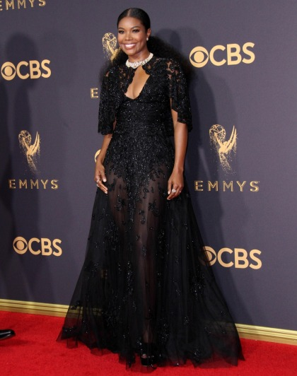 Gabrielle Union in Zuhair Murad at the Emmys: goth-romantic or too heavy?