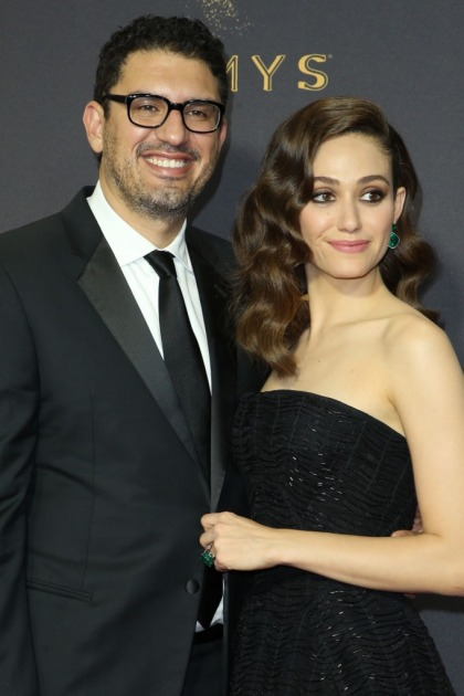 Emmy Rossum in Zac Posen at the Emmys: perfection or plain?