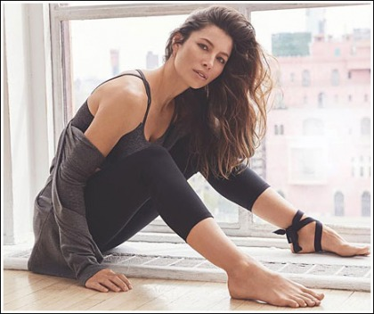 Jessica Biel Gets Leggy, And Cleavagy, And Fit, And Sexy In Workout Attire