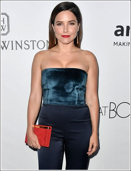 Sophia Bush Busts Out Her Perfectly-Shaped Cleavage