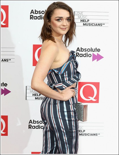 Game Of Thrones' Maisie Williams All Grown Up And Bootylicious!'