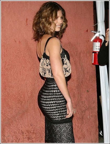 Jessica Biel Busts Out Her Awesome Booty For Flashback Friday!