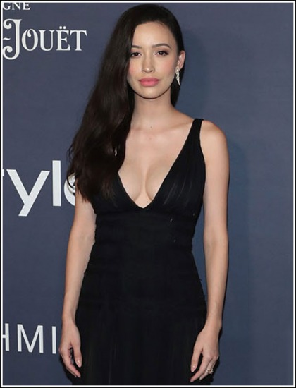 The Walking Dead's Christian Serratos Unleashes Her Massive Braless Cleavage