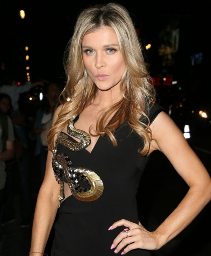 Joanna Krupa got smug about how she's 'ambitious' & never 'lazy' about exercise