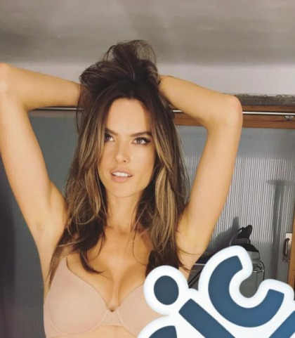 Alessandra Ambrosio Is Anything But Basic