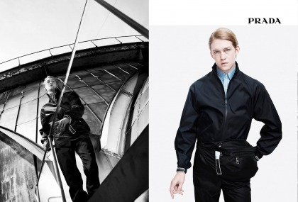 ?Gorgeous' Joe Alwyn is the face of Prada's Spring '18 campaign: yikes or meh'