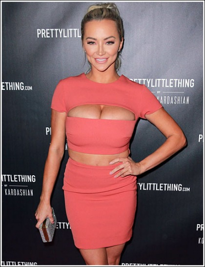 Lindsey Pelas Unleashes A Megaton Of Cleavage