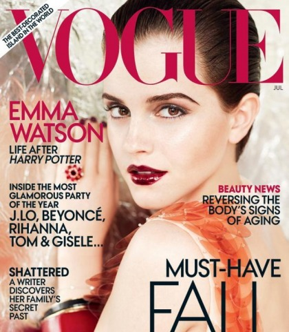 Emma Watson Does Vogue