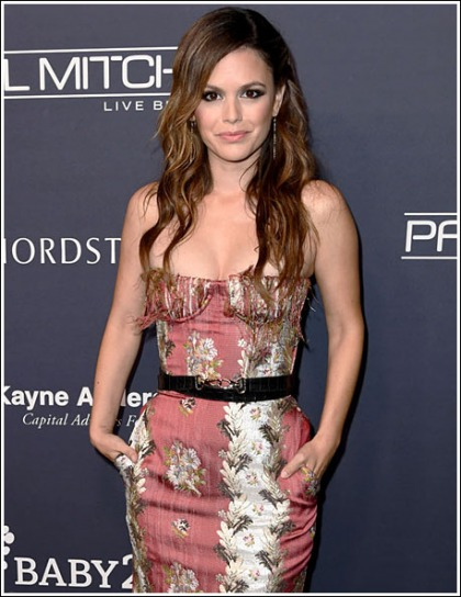 Rachel Bilson Shows Off Her Curvier Curves And Her Bustier Cleavage