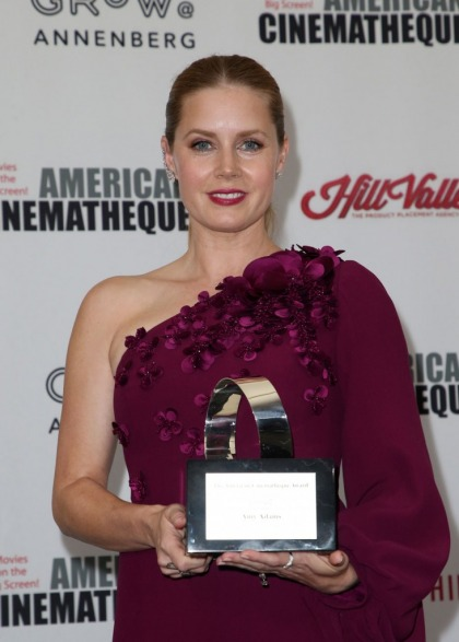 Amy Adams in Andrew Gn at the American Cinematheque Awards: cute or weird?