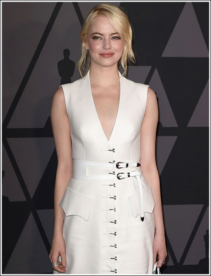 Emma Stone Adorably Hot And Chesty, And Playful With Jennifer Lawrence, Oh My!