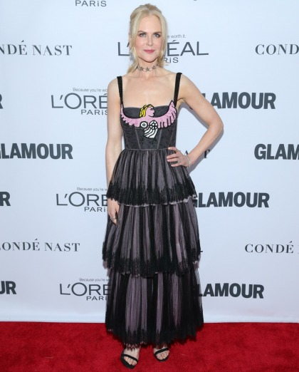 Nicole Kidman in Dior at the Glamour WOTY Awards: tragic, fug or annoying?