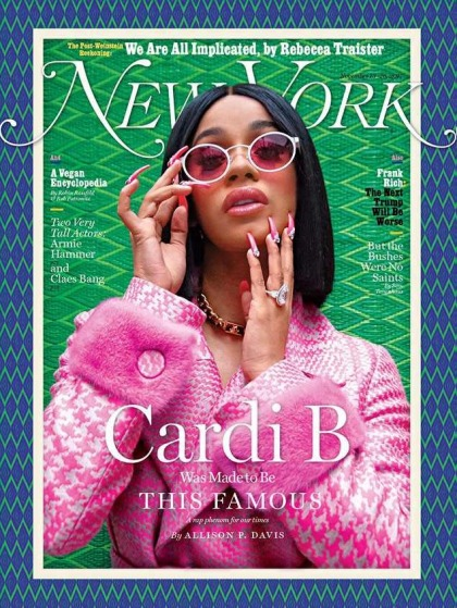 Cardi B: 'People think that being a feminist is a bitch that, like, went to school'