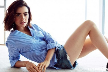 Lily Collins Is A Pretty Gal