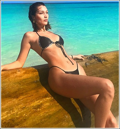 Bella Hadid's Drool-Inducing Body In A Tiny Bikini Will Melt Your Eyeballs