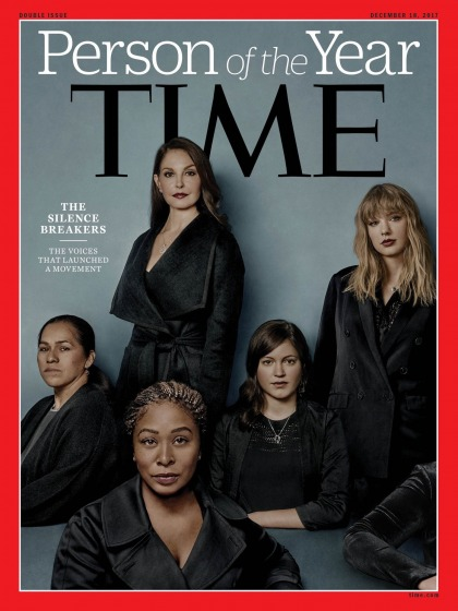 Time's People of the Year are 'The Silence Breakers,' victims who have spoken out