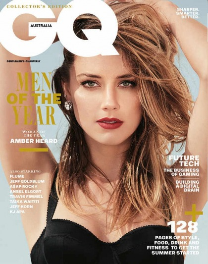 Amber Heard will 'never get the temptation to try to be popular, liked, accepted'