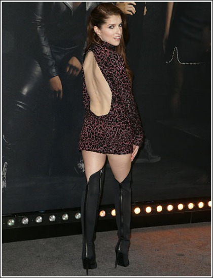 Anna Kendrick Rocking Some Serious Leg And Booty Action In A Naughty Getup