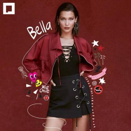 Bella Hadid Models Her 'B#tch Face'