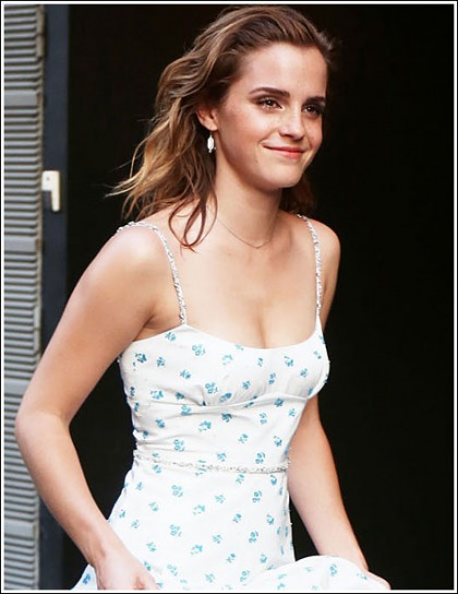 Emma Watson Busts Out A Ton Of Braless Cleavage Action For Flashback Friday!