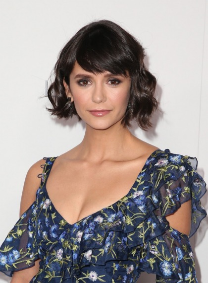 Nina Dobrev on having bangs: 'It definitely is a lot more work'