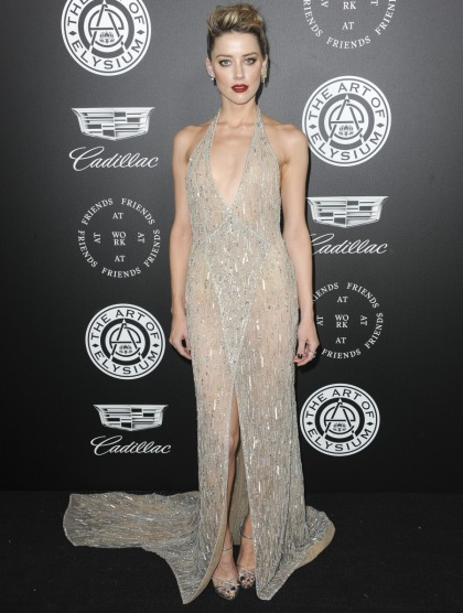 Amber Heard in Georges Hobeika at the Art of Elysium gala: stunning or meh?