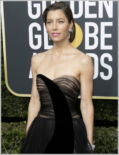 Jessica Biel Gets Chesty And Stunningly Sexy At The Golden Globe Awards