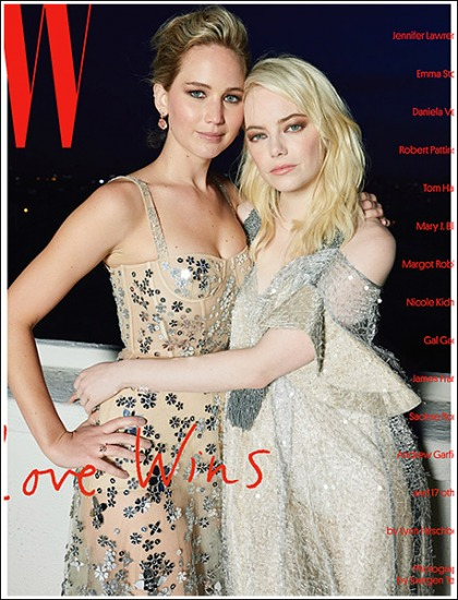 Jennifer Lawrence And Emma Stone Are Bosom Buddies' Literally!