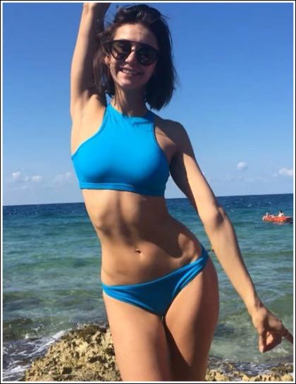 Nina Dobrev Shakes Her Ultra Sexy/Tight Bikini Body