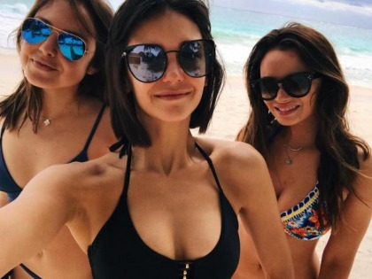 Nina Dobrev Belongs In A Bikini