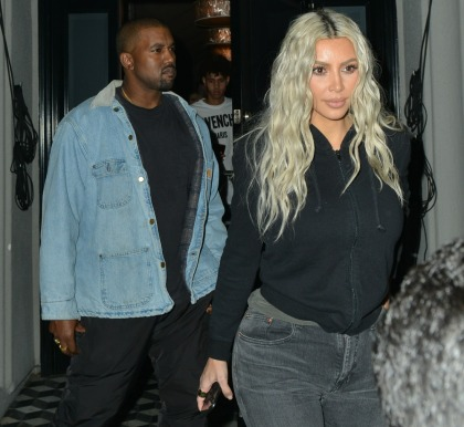 Kim Kardashian hints that Baby Girl West's name might involve 'Louis Vuitton'
