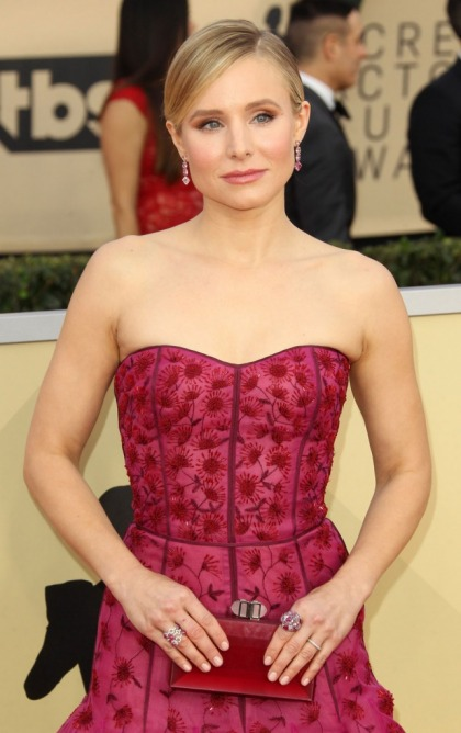 Kristen Bell in J. Mendel at the SAG Awards: forgettable or striking?