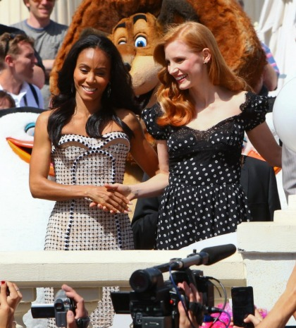 Jada Pinkett Smith praises Jessica Chastain for helping Octavia Spencer get paid