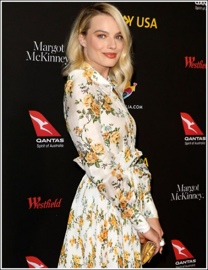 Margot Robbie Gets All Dolled Up, And Ridiculously Hot, And Curvy, Oh My!
