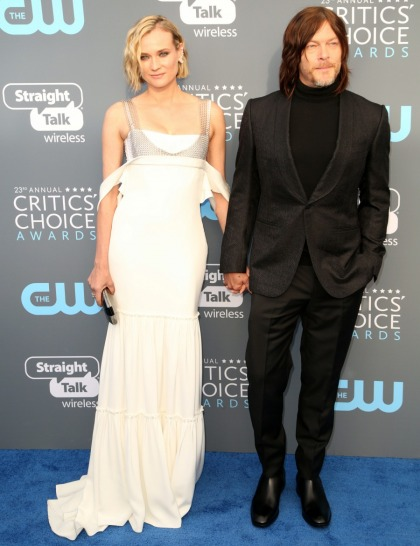 Star: Diane Kruger thinks Norman Reedus is her soulmate & she wants to marry him