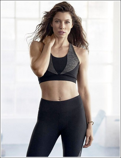 Jessica Biel's Ultra Fit And Sexy Body In Skin-Tight Workout Attire