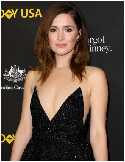 Rose Byrne Drops Some Seriously Sexy Cleavage Action