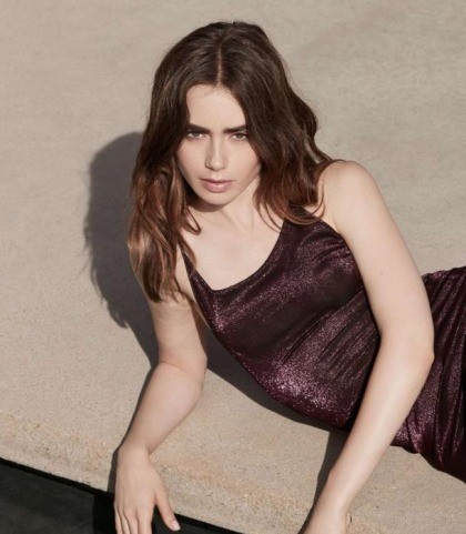 Lily Collins Is Damn Pretty