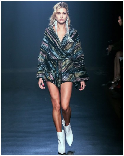 Hailey Baldwin Struts Her Ultra Sexy Supermodel Legs On The Runway