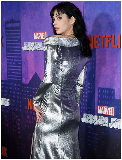 Jessica Jones' Krysten Ritter Busting Out Her Bootylicious Booty Like Bananas!