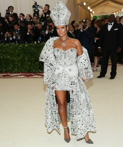 Rihanna was the People's Pope in Maison Margiela at the Met Gala