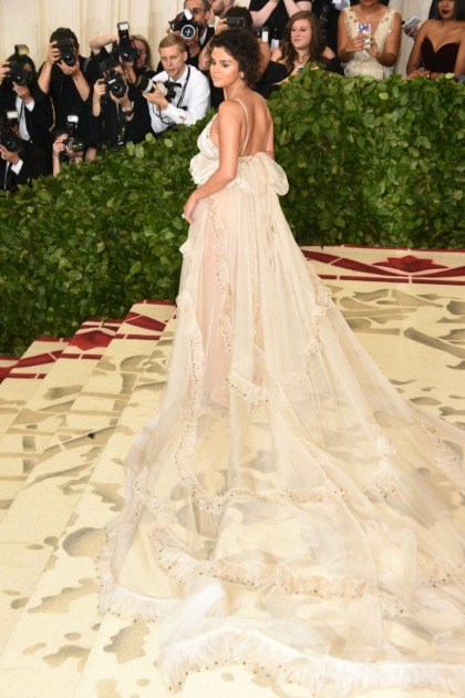 Selena Gomez in shapeless Coach at the Met Gala: one of the worst looks?