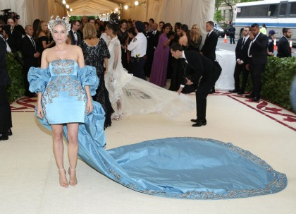 Diane Kruger in Prabal Gurung at the Met Gala: stunning but needs more theme?